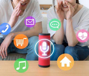 Smart Loudspeaker at home